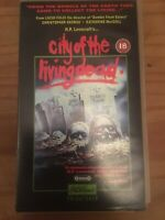 CITY OF THE LIVING DEAD VHS VIDEO