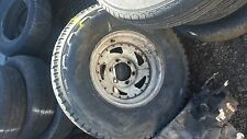 ford mavrick nissan patrol steel wheel and tyre 1 only 15inch