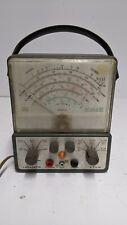 Vintage Lafayette Vacuum Tube Voltmeter Lafayette Vtvm