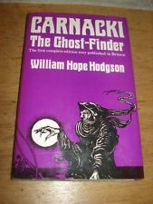 William Hope Hodgson, Carnacki the Ghost Finder,1972, HARDBACK