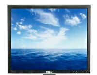"19"" DELL 1907FPt UltraSharp LCD Genesis VGA DVI Screen With Power & Video Wires!"