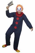 Freaky el azul y rojo Freak Payaso De Circo Halloween Vestido Encantador Ropa