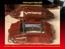 Dodge Viper / Brembo 4 Pot Brake Calipers Front and Rear