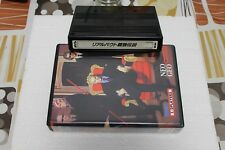 NEO GEO MVS REAL BOUT FATAL FURY 100% ORIGINAL WITH BOX AND INSERT