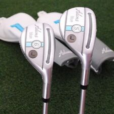 Adams Golf Blue Rescue Hybrid 2 piece SET 5h & 6h Graphite Ladies Flex - NEW