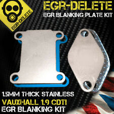 EGR Supprimer plaque d'obturation Removal VAUXHALL ASTRA VECTRA 1.9 CDTi 150bhp Z19DTH