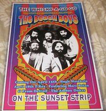 The Beach Boys 1971 Whisky-A-Go-Go Replica Concert Poster