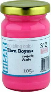 312 - Phosphor Pink - 105ml Marmorierfarbe  Ebru Boyasi  marbling color