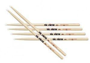 Vic Firth Drum sticks USA Classics 7A Nylon Tip - Three Pairs - VF-7AN x3 Pairs