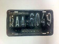 Original Rosario Argentina License Plate Santa Fe Province Argentine - (F- 131)