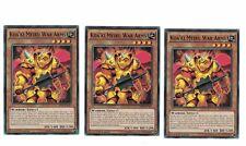 3x KOA 'KI MEIRU era Arms bp03-en061, Common, MINT, inglese, 1st, Playset