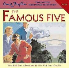 Five Fall into Adventure & Five Get into Trouble by Enid Blyton (CD-Audio, 2008)
