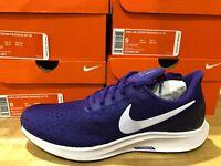 Nike Air Zoom Pegasus 35 TB Mens Purple White Running Shoes Multiple Sizes NIB