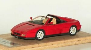 1/43 HECO MODELES 1989 FERRARI 348TS PININFARINA  - DERELICT N/MATRIX N/BBR