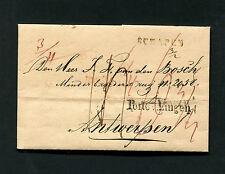 """Hannover """"""""Schapen"""" und """"Porto v. Lingen"""" Brief von 1841   (#917)"""