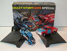 CLIPPER SSP CRAZY RACERS GIFT SET 'STUNT CARS SPECIAL' 100% COMPLETE MIB KENNER