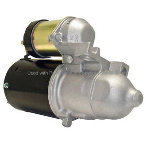 Remanufactured Starter  Quality-Built  6473MS