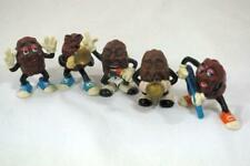 Calrab 1987 California Raisins Set of 5 Jazz Band Figures
