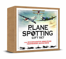 PLANE SPOTTING SET, DVD, BOOK, NOTEPAD & PEN - IDEAL GIFT FOR AEROPLANE SPOTTERS