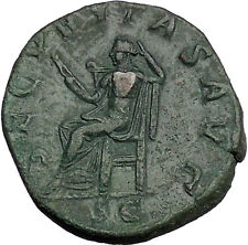 GORDIAN III 243AD Sestertius Big Ancient Rare Roman Coin Security Cult  i51166