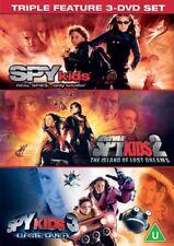 Spy Kids 1 2 3 Movie Collection (antonio Banderas Carla Gugino) DVD