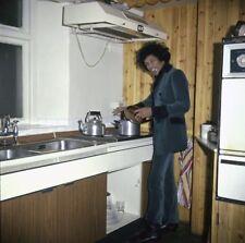 Jimmi Hendrix In His Kitchen  8x10 Photo Print
