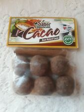 New Pure Natural saber dominicano Raw bean natural Cacao  Best Cocoa 5 OZ