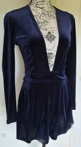 Lioness womens velvety playsuit romper size M