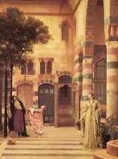 A3 Box Canvas Leighton Old Damascus Jew s Quarter Lord Frederick Leighton