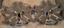 Alba Wheels Chrome Custom Wheel Center Cap Caps Set 2 (1) # DM-106