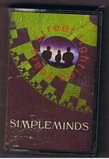 "SIMPLE MINDS ""STREET FIGHTING YEARS""  MC Ottime condizioni"