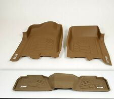 Ford Super Duty Super Crew 2008 - 2010 Front Floor Mats Tan 3 piece set