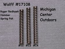 Wolff REDUCED POWER HAMMER SPRING KIT for Ruger REDHAWK Revolver W17108 USA MADE