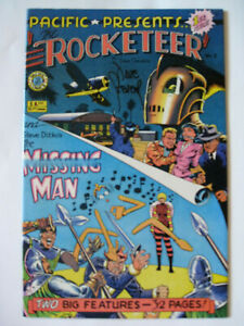 Pacific Presesents The Rocketeer  #1 (1982 ) SIGNED Dave Stevens appr F/VF @SDCC
