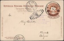 MEXICO, 1906. Post Card H&G 113, Veracruz - Anvers, Belgium