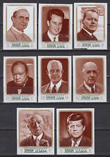 Ajman 1970 ** Mi.1246/53 B Politiker politicians Präsident president Kennedy