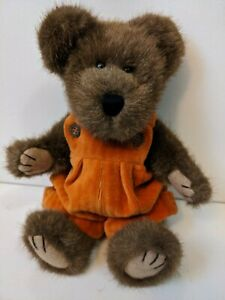 "Boyds Bear  Autumn Fallsbeary  Plush Jointed Bear 7""  - Excellent Condition"