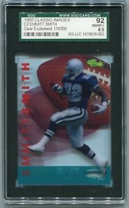 1995 Classic Images Four Sport Clear Excitement #C2 Emmitt Smith 170/300 RARE