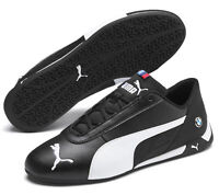 PUMA Schuhe sportliche Herren Laufschuhe BMW MMS R-Cat Schwarz/Weiß