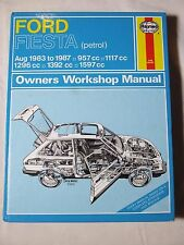 FORD FIESTA PETROL 1983 ~ 1987 PETROL HAYNES SERVICE & REPAIR MANUAL
