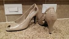 New Size 7M Worthington Nude Open Toe Heel w/Corset Tie design