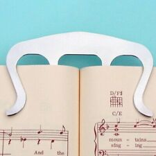 Equipment Clip Musik Tasten Klaviere Ständer Blatt Metall Lied Buch Seite Halter
