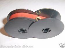 Smith Corona Profile Typewriter Ribbon Original Small Spools Red Black Ink
