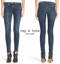 NWT $195 RAG & BONE SKINNY HIGH RISE JEAN IN PHOENCIA. MADE IN USA.  SZ 27