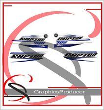 Yamaha Raptor 700 2016 Blue White Replica Decals Graphics Kit Stickers  Set