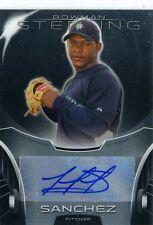 Victor Sanchez 2013 Topps Bowman Sterling Prospects  Autograph Auto