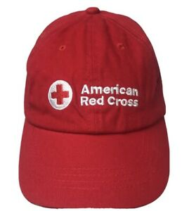American Red Cross Logo Unisex Employee Uniform Baseball Hat Cap Logo Small