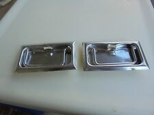 Vintage Coleman  Metal Camping Cooler REPLACEMENT BOTTLE OPENER HANDLES SET