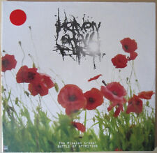 """NAPALM DEATH / Heaven Shall Burn 7"""" EP - 45 RPM - RED COLORED VINYL LP - SEALED"""