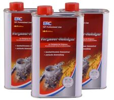 ERC Vergaser Reiniger 13,00€/L 3x1L Anwendung in professionellen Werkstätten